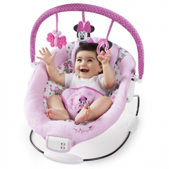 Brights starts ležaljka Minnie Mouse Garden Delights Bouncer  - 60578