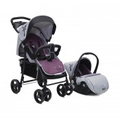 Cangaroo Lea set 2 u 1 kolica + sedište / Purple - CAN3631P