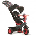Smart trike tricikl Boutique Crveni 4 u 1