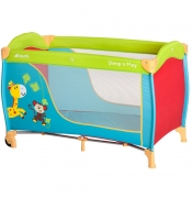 Hauck prenosivi krevetac Sleep n Play Jungle fun - 5170178
